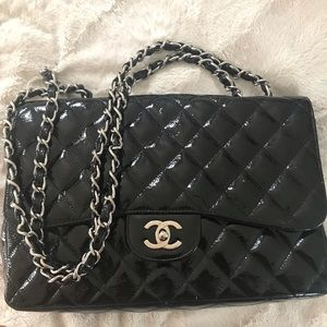 CHANEL Patent Leather Purse